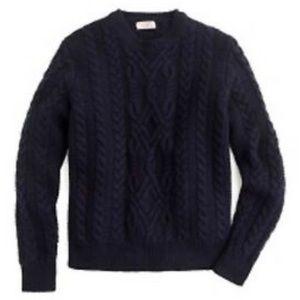 Wallace & Barnes J Crew   Shetland Wool Sweater